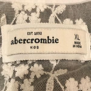abercrombie kids Shirts & Tops - Abercrombie Kids Lace